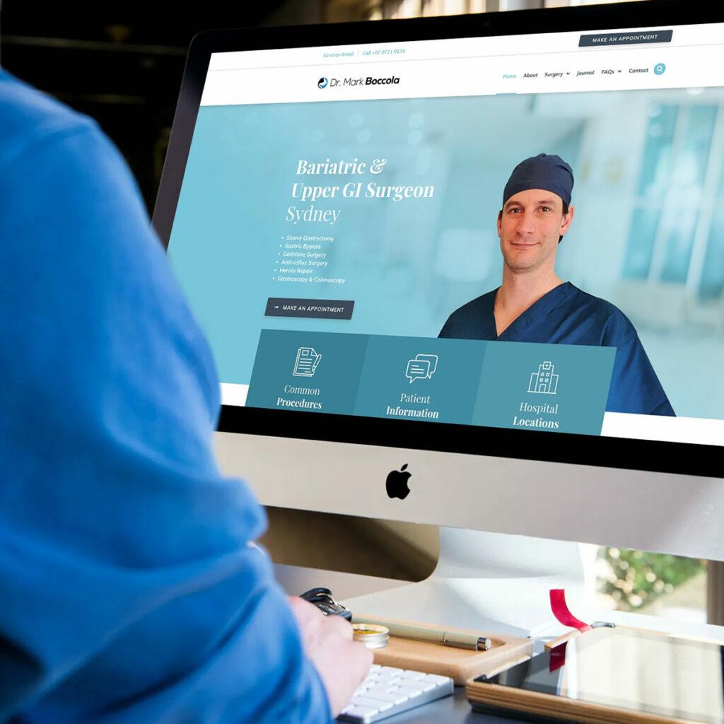 Dr Mark Boccola - Medical Website
