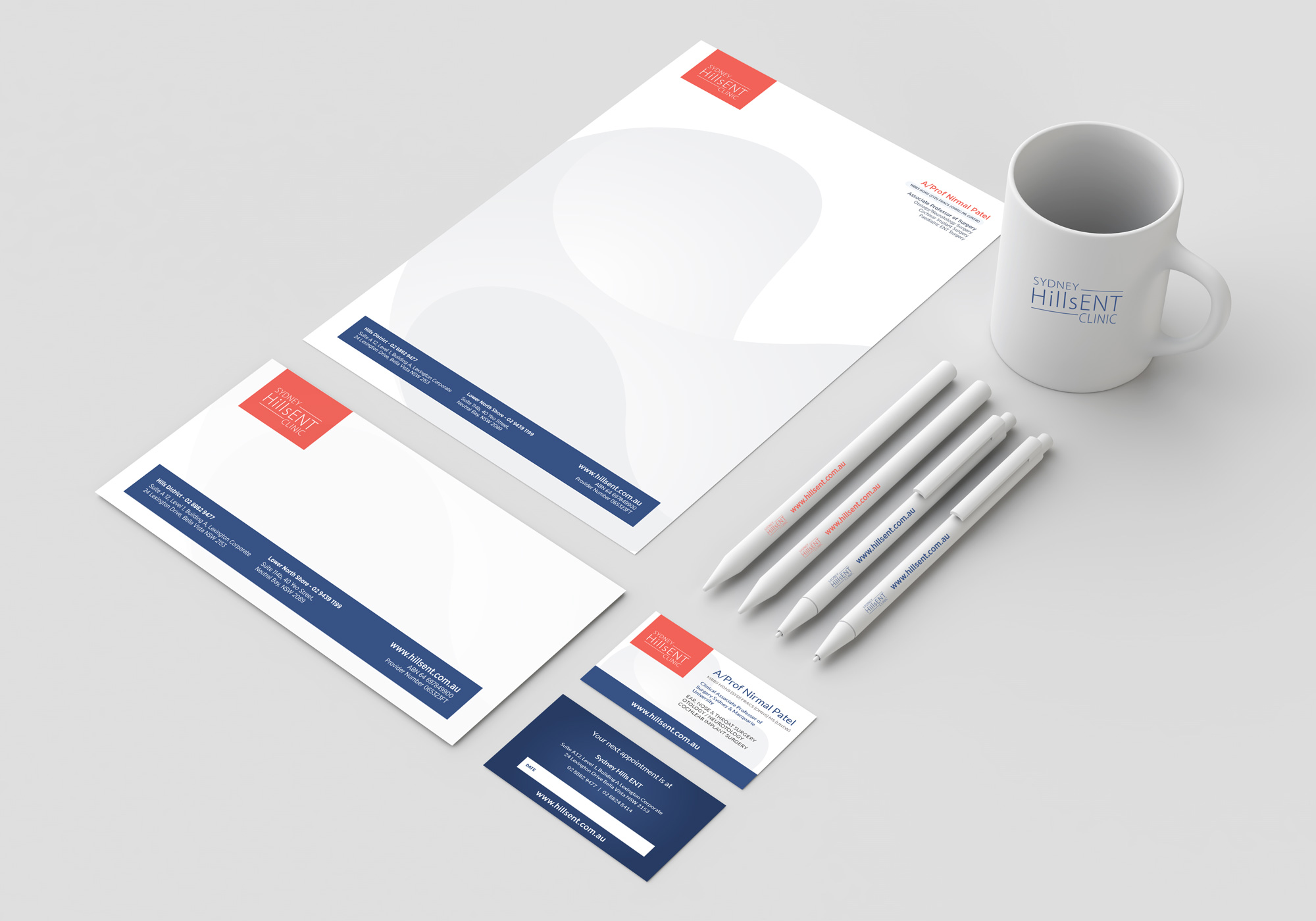 Stationery Kit for Specialist ENT Clinic