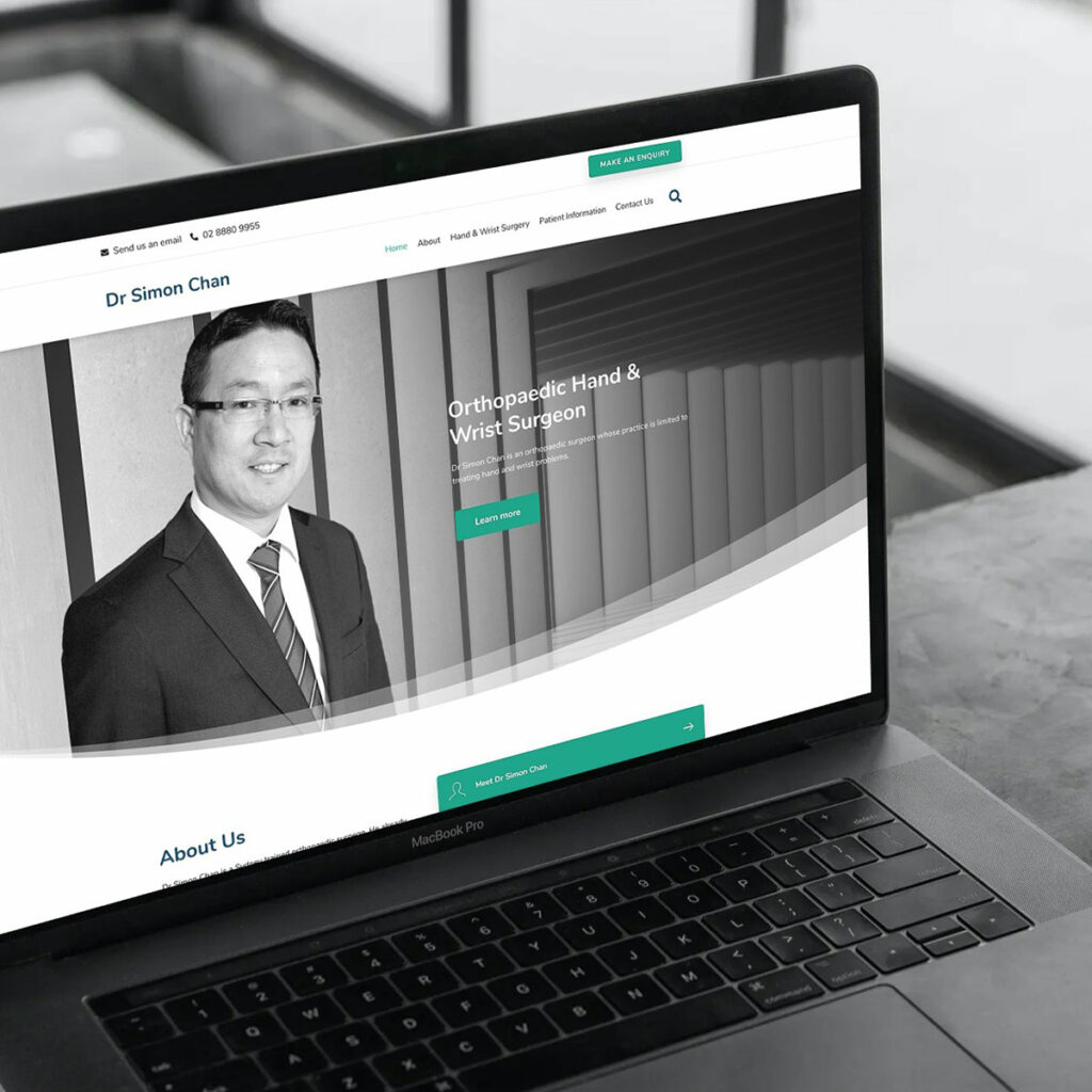 Dr Simon Chan - Specialist Branded Website