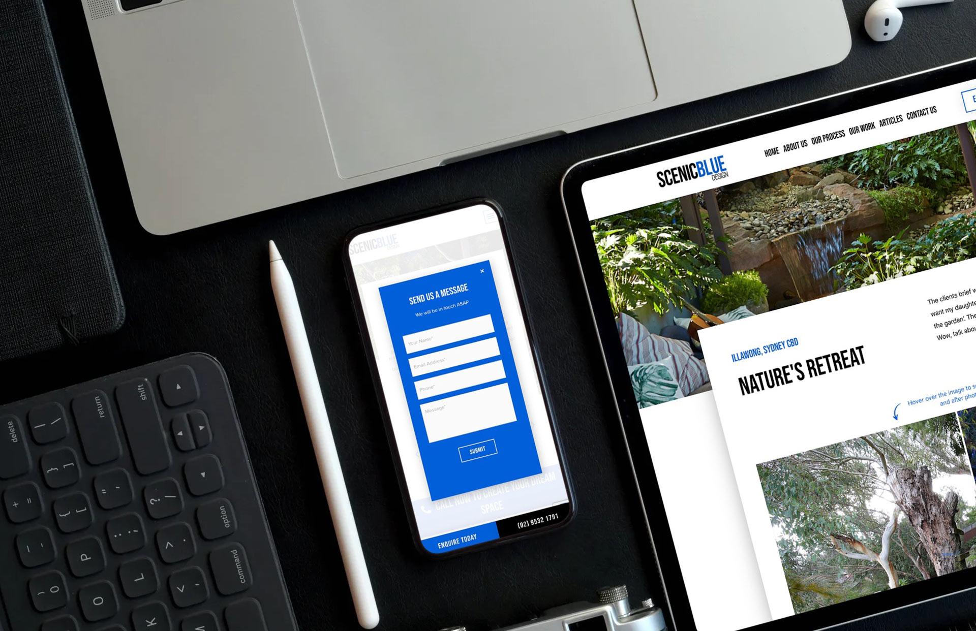 Landscape Designer Portfolio Website