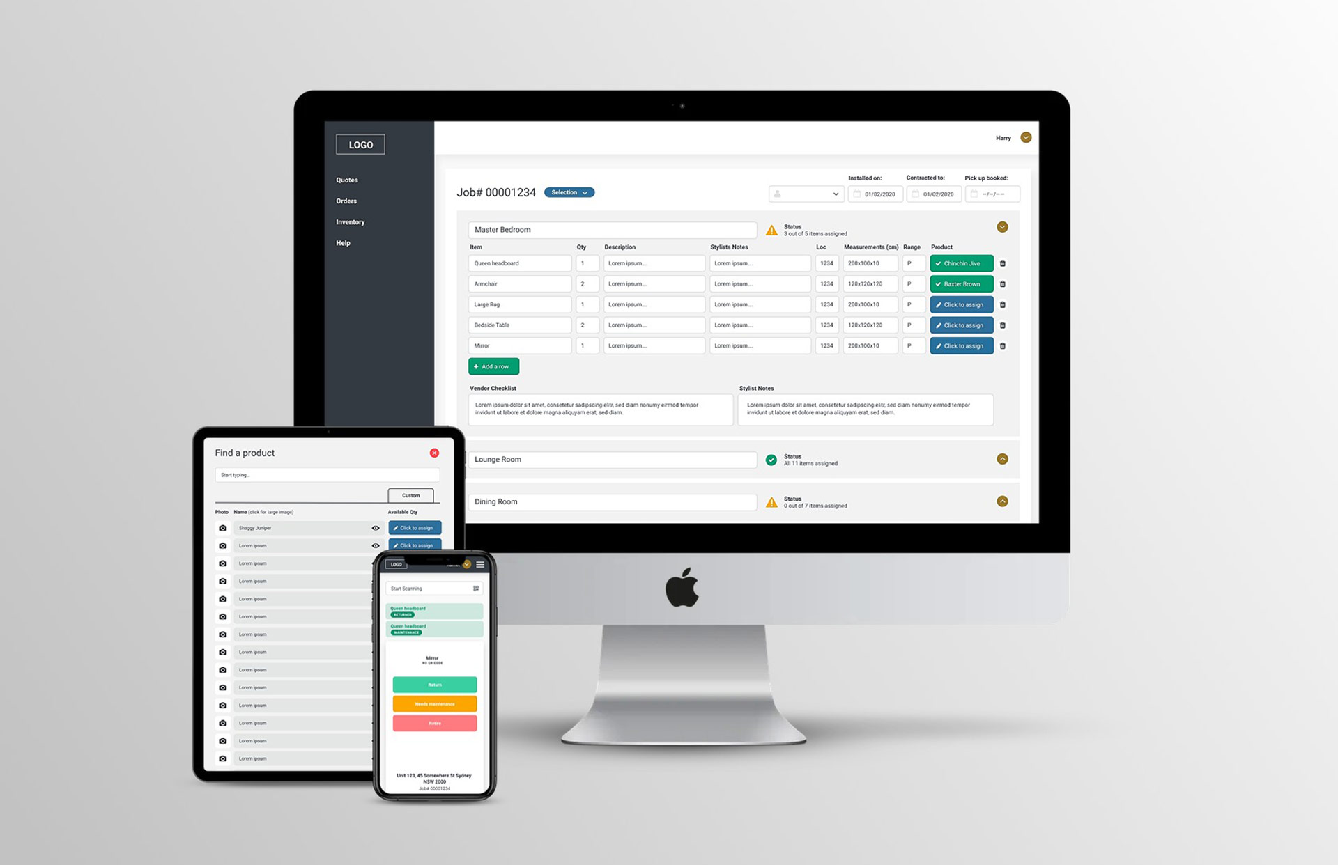 Website Wireframes and Responsive Design