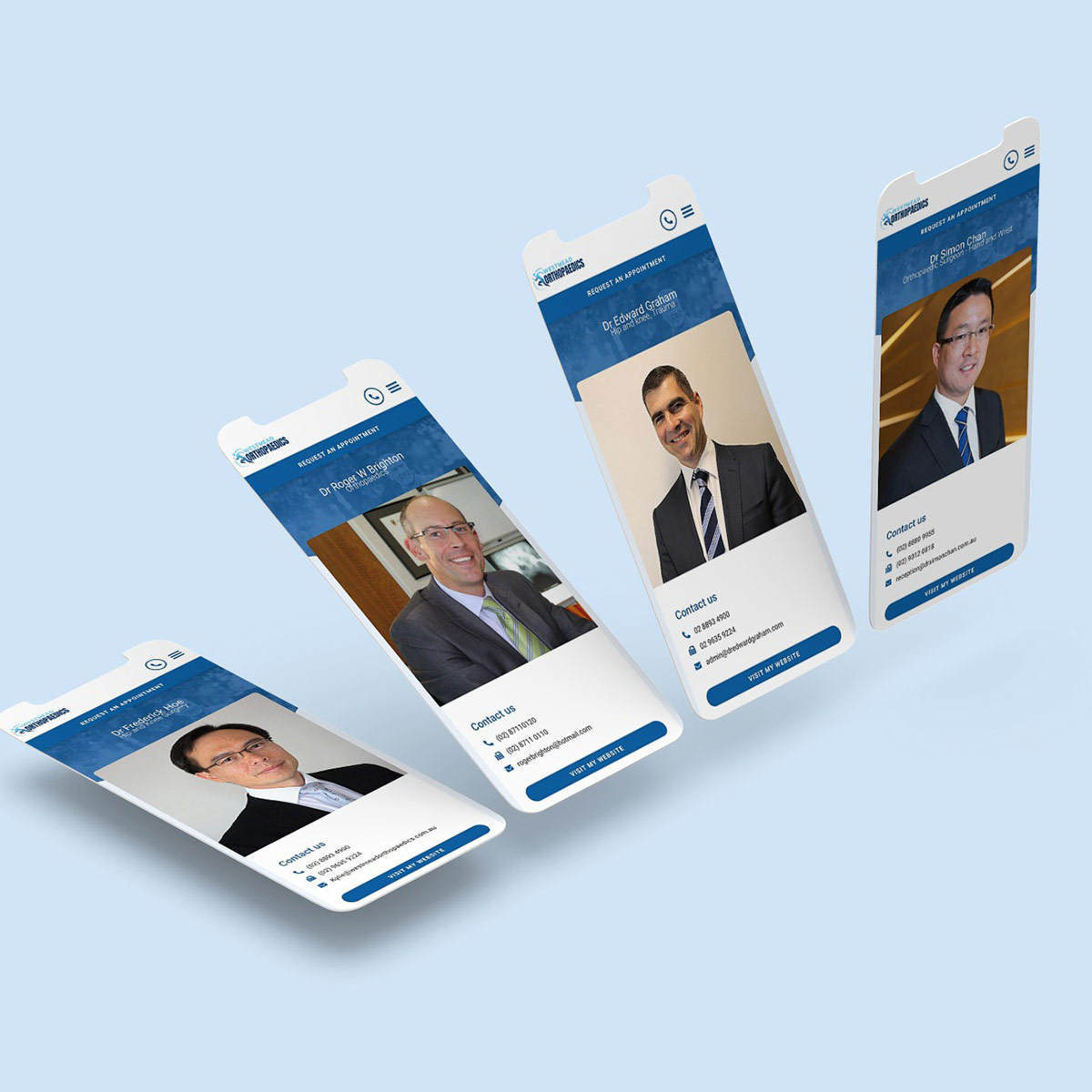 Westmead Orthopaedics - Responsive Website Design