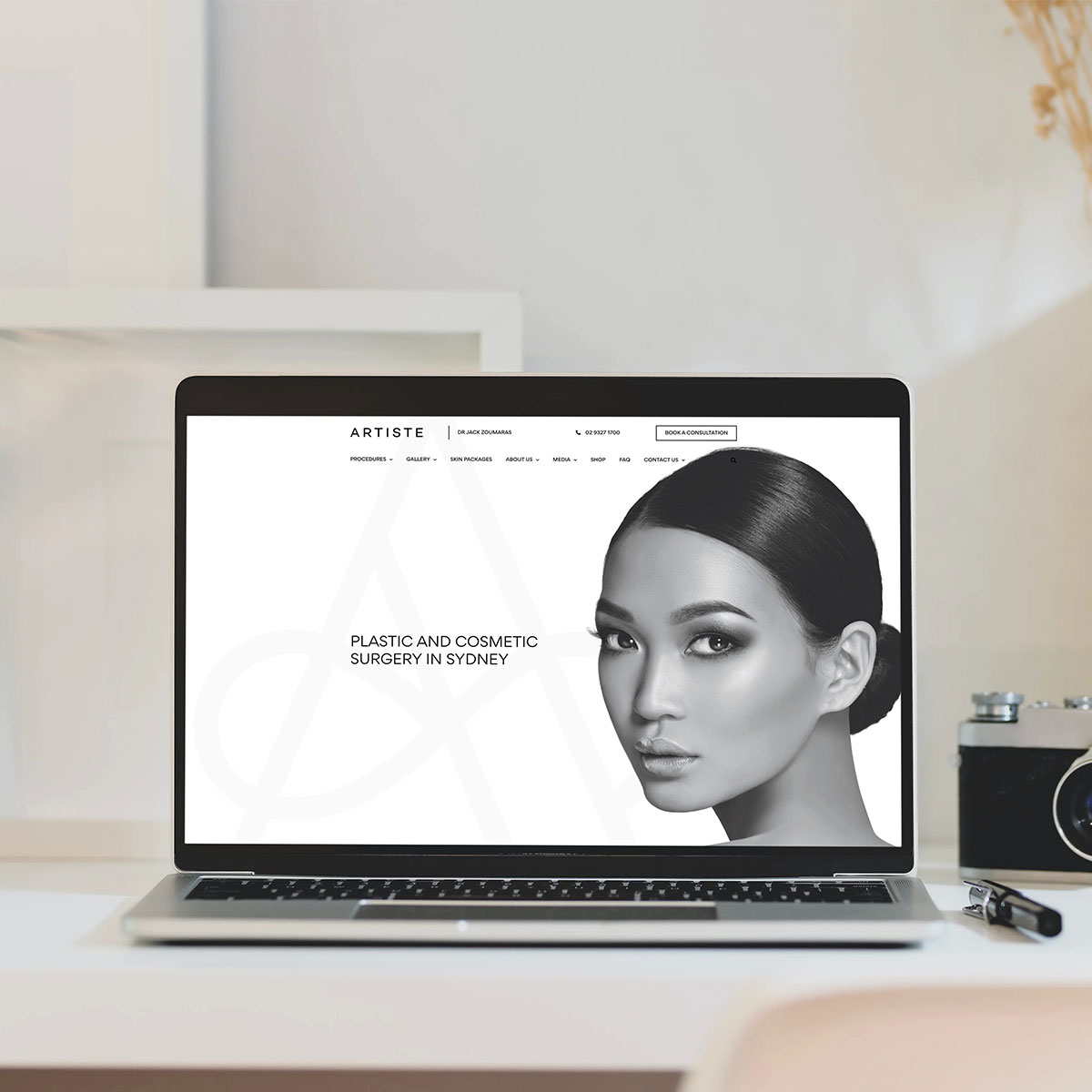 Artiste Plastic Surgery - Responsive Website