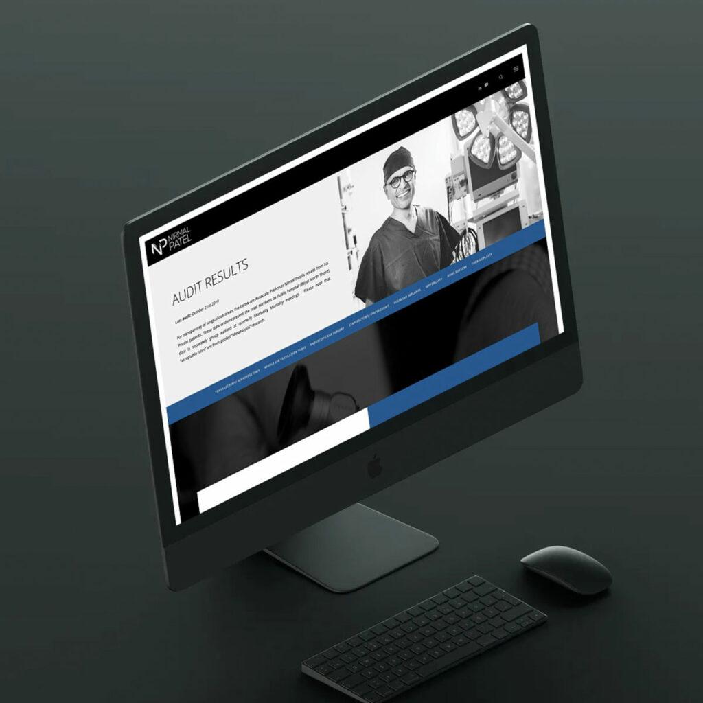 Dr Nirmal Patel - ENT Specialist Website
