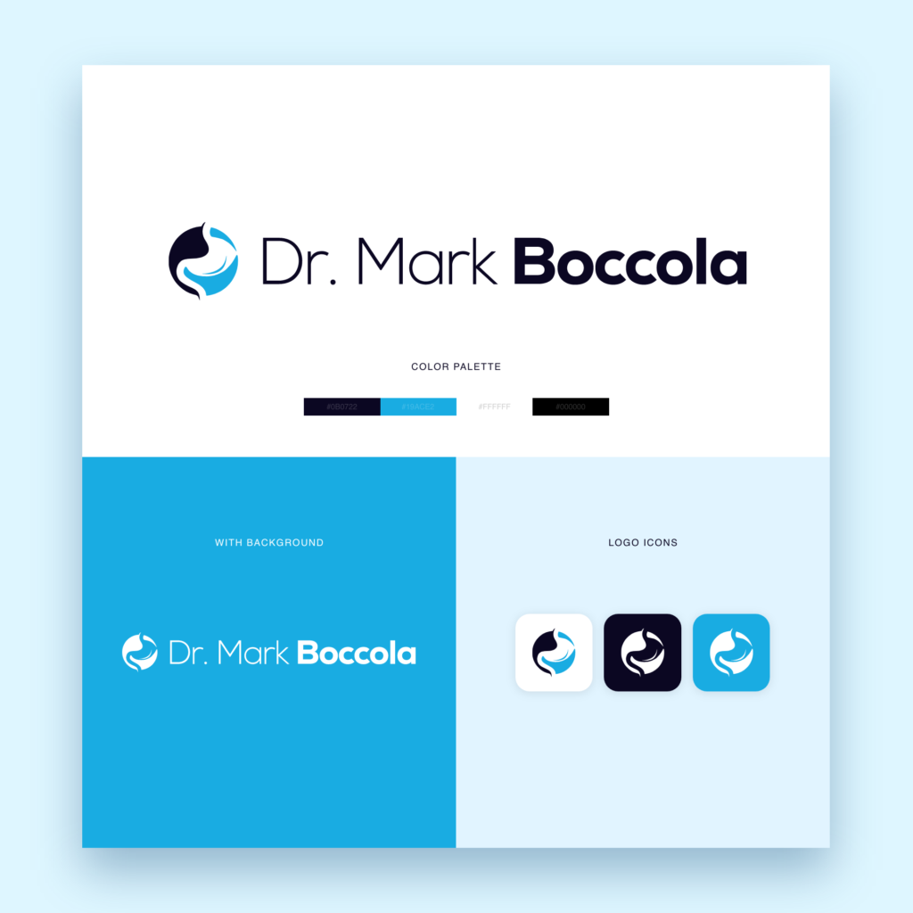Dr Mark Boccola Logo Design