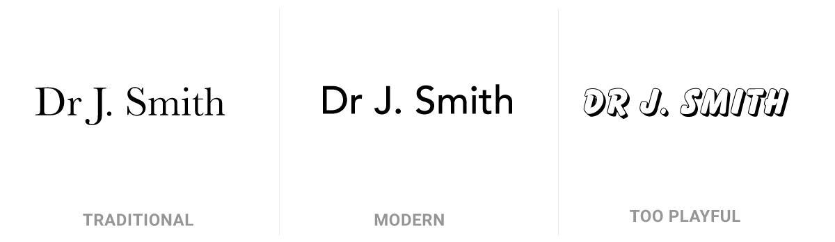 Examples of medical logos